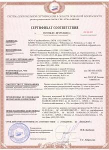 пожарный сертификат керамзитобетонных блоков