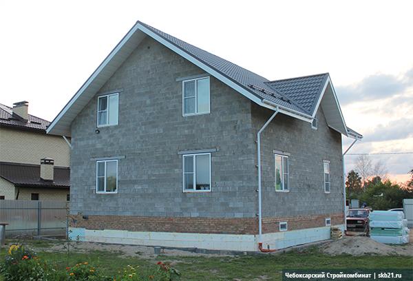 Малоэтажное строительство из керамзитобетонных блоков